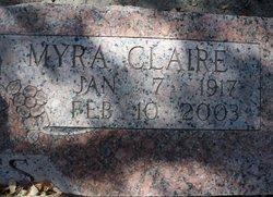 Myra Clairenda Claire <i>Scott</i> Tibbetts