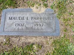 Maude Ella <i>Mercer</i> Parrish