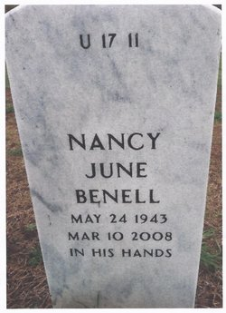 Nancy June <i>McGill</i> Benell