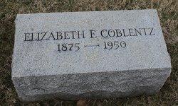 Elizabeth Florence <i>Shaw</i> Coblentz