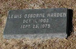 Lewis Osborne Harden