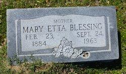 Mary Etta <i>Short</i> Blessing