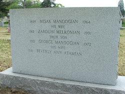 Zarouhi <i>Melkonian</i> Manoogian