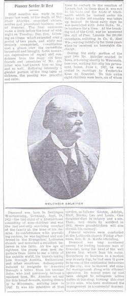 Melchoir Ableiter