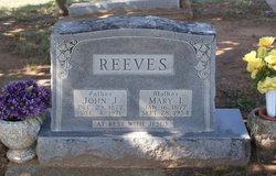 Mary I. <i>Gillham</i> Reeves