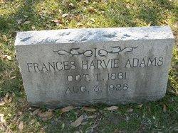Frances Harvie Adams