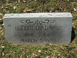 Hubert D Adams