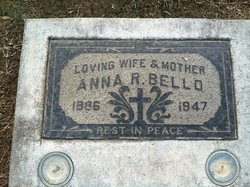 Mrs Anna <i>Rosa</i> Bello