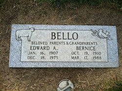 Mrs Bernice B. <i>Cerutti</i> Bello