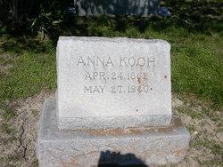 Anna <i>Schmidt</i> Koch