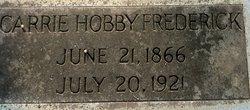Carrie <i>Hobby</i> Frederick