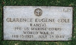 PFC Clarence Eugene Cole