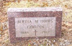 Bertha M. <i>Hoops</i> Goodin