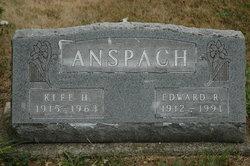 Edward Richard Anspach