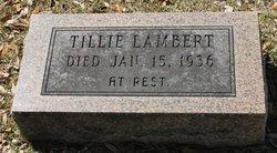 Tillie Lambert