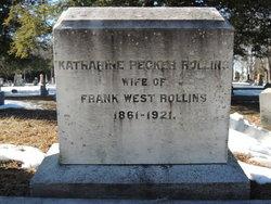 Katharine Wallace <i>Pecker</i> Rollins