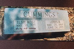 Elsie Rose <i>Kuhn</i> Cummings