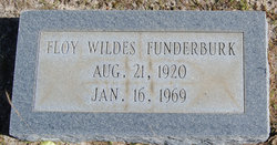 Floy Inez <i>Wildes</i> Funderburk