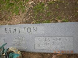 Oleda <i>Morgan</i> Bratton
