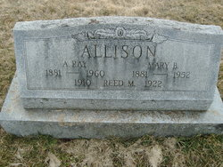 Mary B <i>Loder</i> Allison
