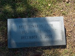 Bess <i>Edwards</i> Cook