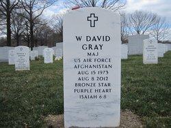 Maj Walter David David Gray