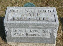 Sgt Wilford O. Estep