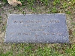 Paul Wesley Laster