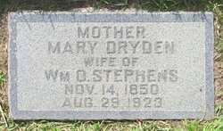 Mary Ellen <i>Dryden</i> Stephens