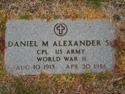 Daniel M Alexander, Sr