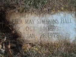 Ella May <i>Simmons</i> Hall