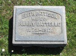 Edith <i>Pattison</i> Battelle
