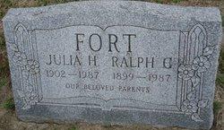 Julia H <i>Tolbert</i> Fort