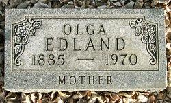 Olga B. <i>Olson</i> Edland