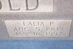 Lalia <i>Pearce</i> Arnold