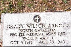 Grady Wilson Arnold