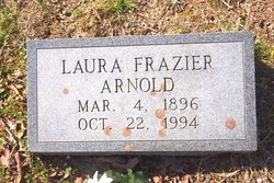 Laura <i>Frazier</i> Arnold