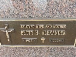Betty H. Alexander