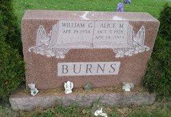 Alice M Burns