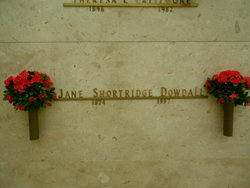 Jane Louise <i>Shortridge</i> Dowdall