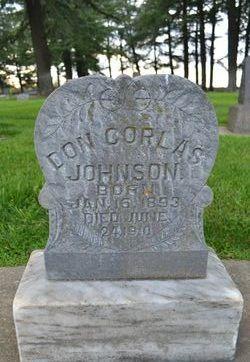 Don Corlas Johnson
