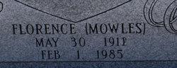 Florence <i>Mowles</i> Edwards