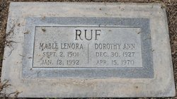 Dorothy Ann Ruf