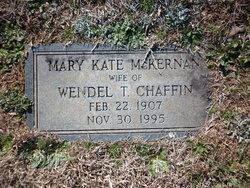 Mary Kate <i>McKernan</i> Chaffin