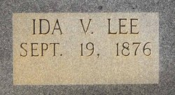 Ida Victoria <i>Lemons/Lemmons</i> Lee