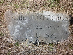 Mary Willis Mamie <i>Scott</i> Cross