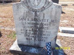 Sam K Bennett, Jr