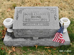 Boyd 'Sonny' Irvine
