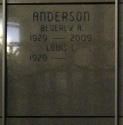 Beverly Alice <i>Michaels</i> Anderson