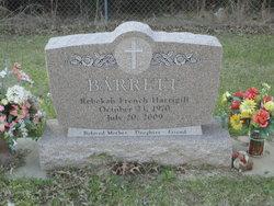Rebekah <i>Harrigill</i> Barrett